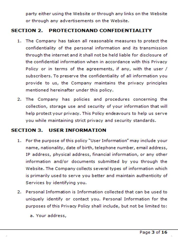 Privacy Policy 4