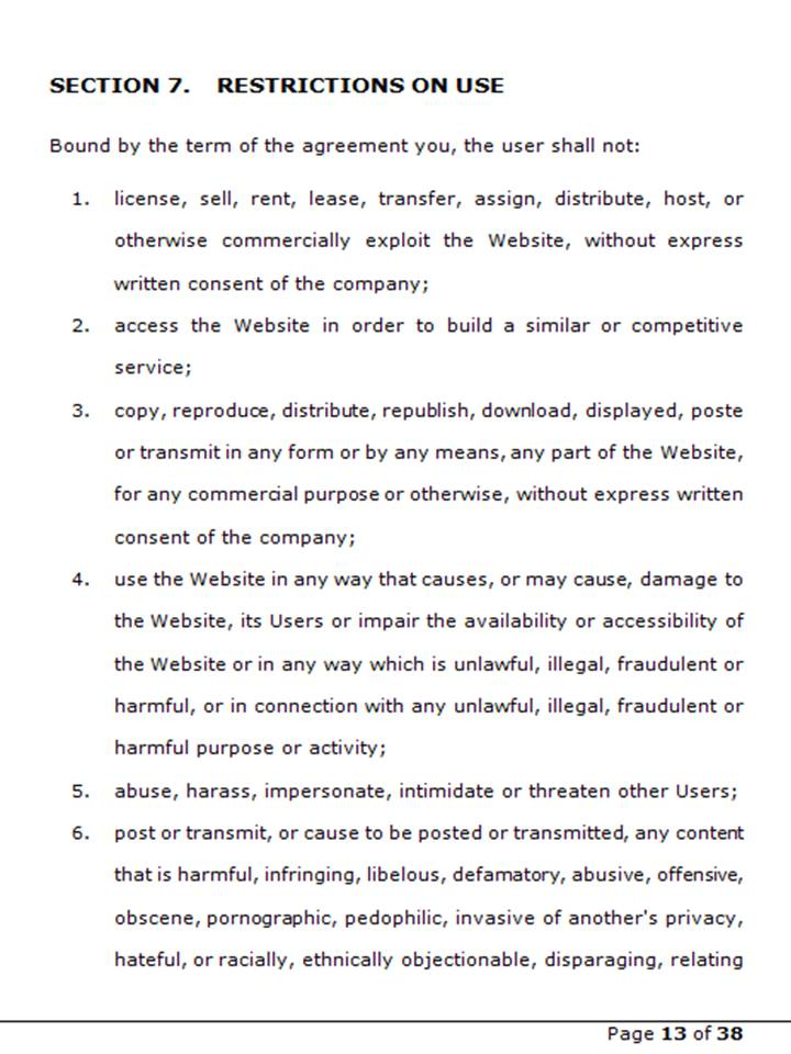 Terms 15